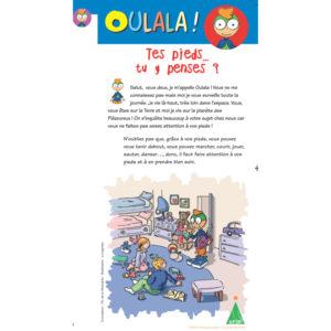Dépliant Oulala pour les enfants