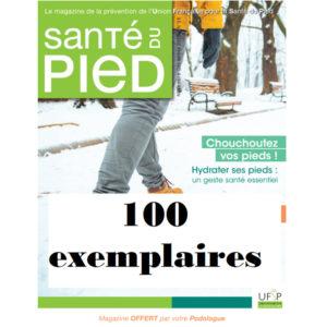 Abonnement au magazine Santé du pied 100 exemplaires 2021