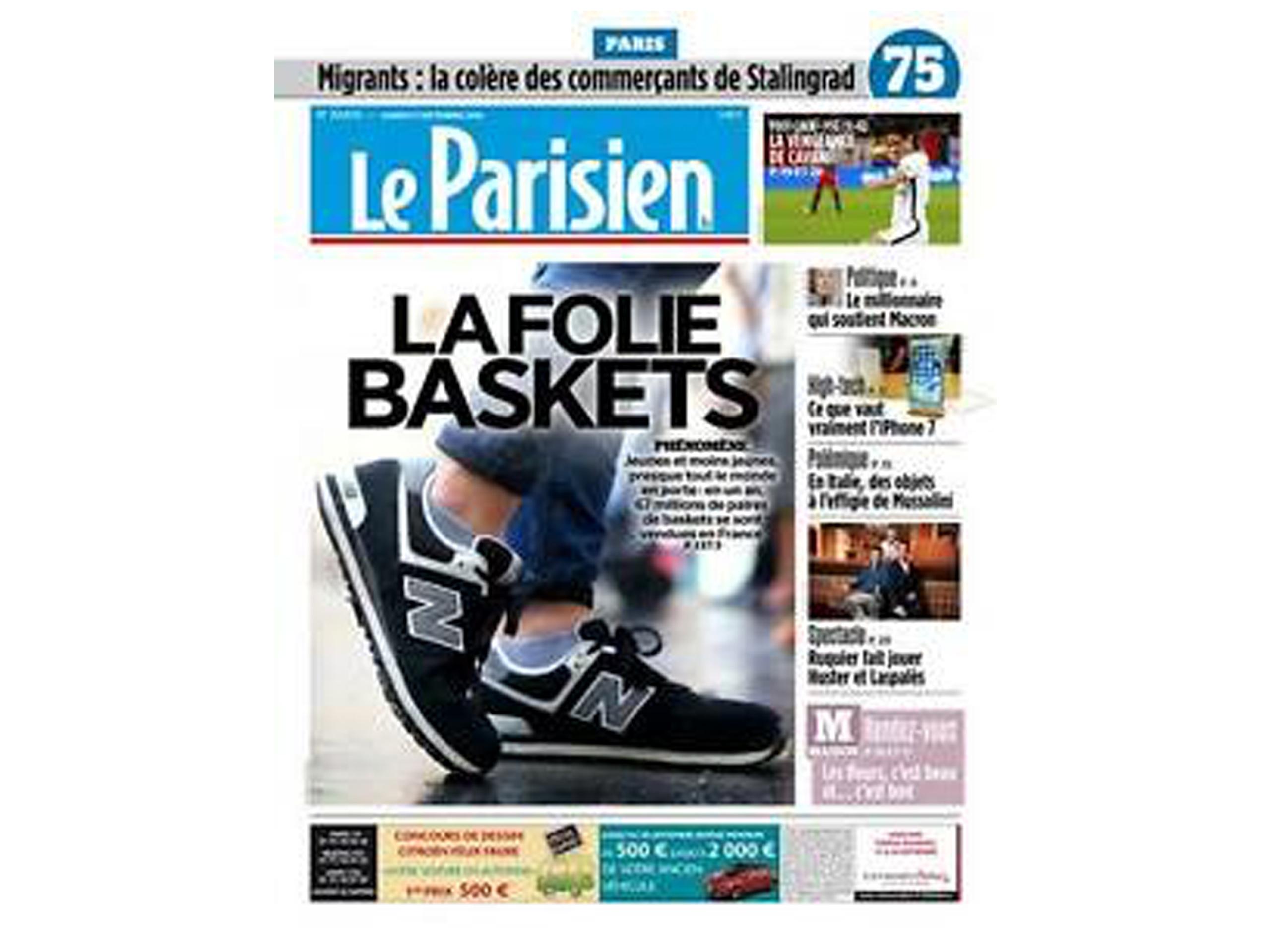 Le Parisien par de l'UFSP