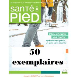 Abonnement au magazine Santé du pied 50 exemplaires 2021