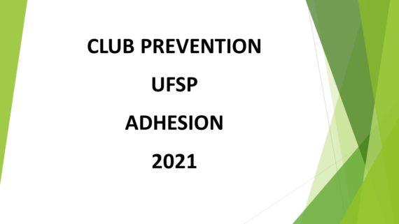 Adhésion 2021 site internet