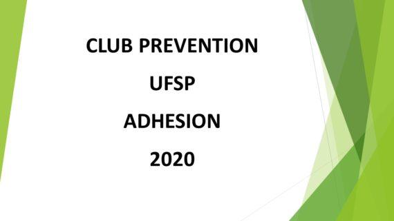 Adhésion 2020 site internet