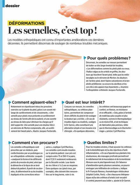 """""""Les semelles, c'est top !"""", la presse parle de l'UFSP"""